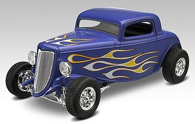 plastic model cars,plastic model car,1934 Ford Street Rod -- Snap Tite Plastic Model Vehicle Kit -- 1/25 Scale -- #851943