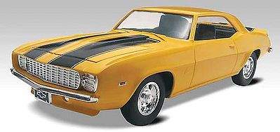 plastic model car,plastic models,1969 Camaro Z/28 SS -- Snap Tite Plastic Model Vehicle Kit -- 1/25 Scale -- #851959