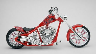 plastic models,motorcycle plastic models,RM Kustom Chopper Crusader -- Plastic Model Motorcycle Kit -- 1/12 Scale -- #857314