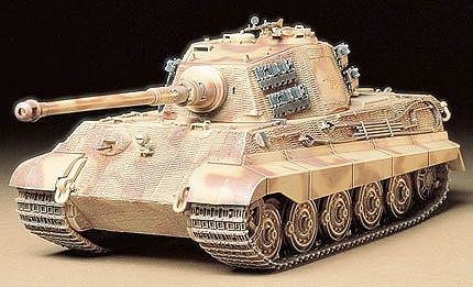 plastic models,military plastic models,King Tiger Tank -- Plastic Model Military Vehicle Kit -- 1/35 Scale -- #35164