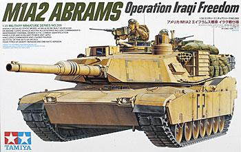 plastic models,military plastic models,M1A2 Abrams 120mm Gun Tank -- Plastic Model Military Vehicle Kit -- 1/35 Scale -- #35269